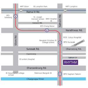 rhythm sathorn map